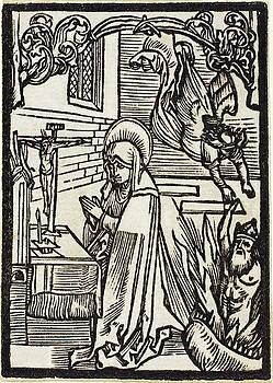 Albrecht Durer - Saint Odilia
