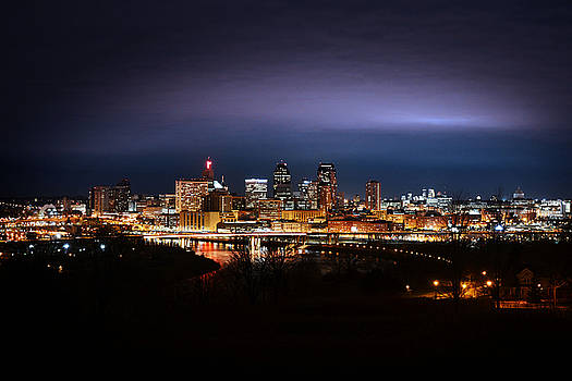 Saint Paul Skyline #1 by Jonathan Charpentier photography