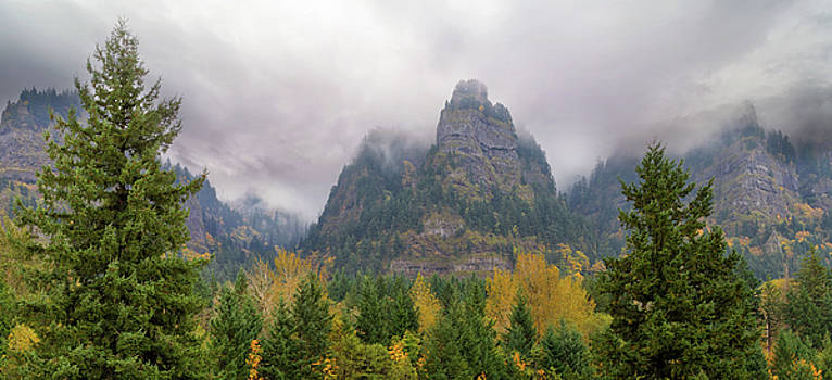 Saint Peters Dome at Columbia River Gorge by David Gn