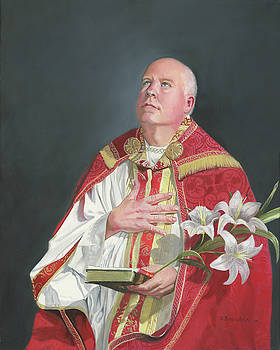 Saint Phillip Neri by Cecilia Brendel