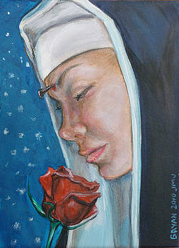 Saint Rita of Cascia by Bryan Bustard