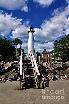 Saint Simons Lighthouse 2 by Chuck Hicks