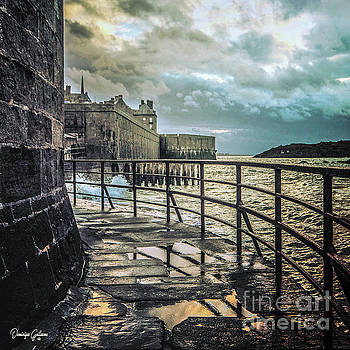 Saint-Thomas's gate in Saint-Malo by Dominique Guillaume