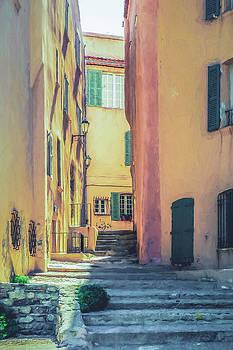 Saint Tropez Street by Elly De vries