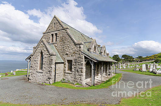 Saint Tudno church 2 by Steev Stamford