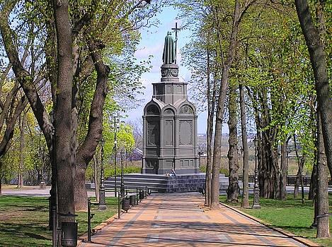 Saint Volodymyr by Oleg Zavarzin