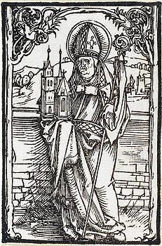 Albrecht Durer - Saint Wolfgang