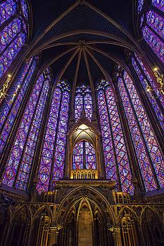 Sainte Chapelle Paris by Andrew Soundarajan