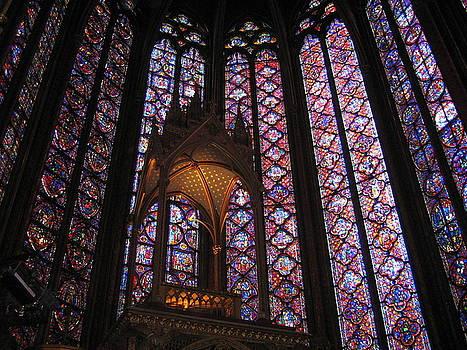 Sainte Chapelle by John Tschirch