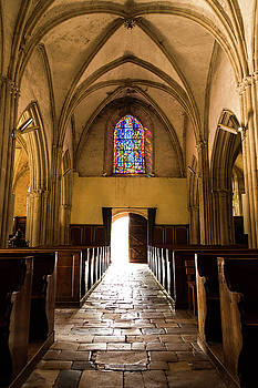 Sainte Mere Eglise Light by John Daly
