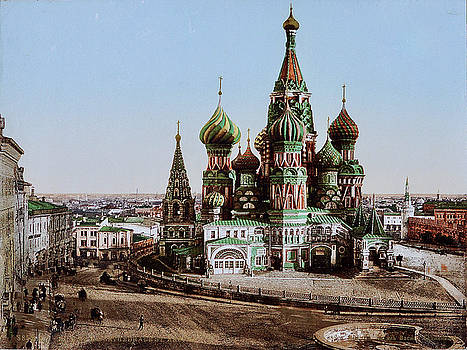 Sainy Basil's Moscow by Ira Shander