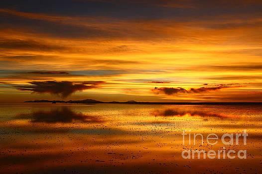 James Brunker - Salar de Uyuni Sunset Reflections