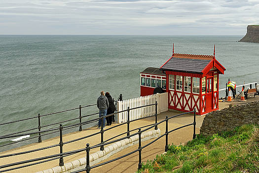 Saltburn Cliff Tramway - Top Station by Rod Johnson