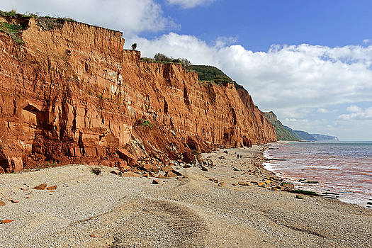 Salcombe Hill Cliff - Sidmouth by Rod Johnson