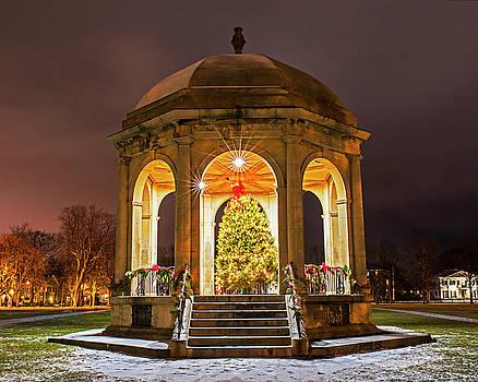 Salem Commons Christmas Tree 2017 Salem MA by Toby McGuire