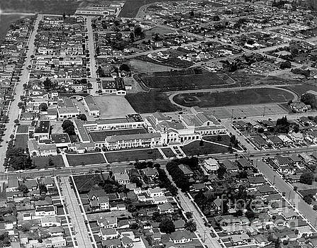 California Views Mr Pat Hathaway Archives - Salinas High School 726 S. Main Street, Salinas Circa 1950