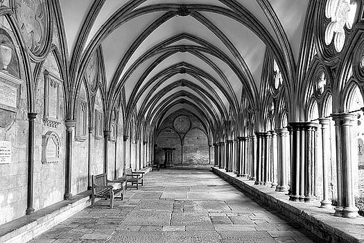 Salisbury Cathedral Cloisters by Anita Van Den Broek