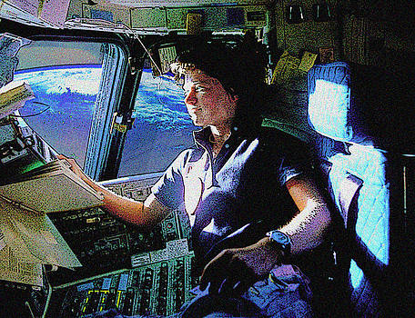 Sally Ride by William Sargent