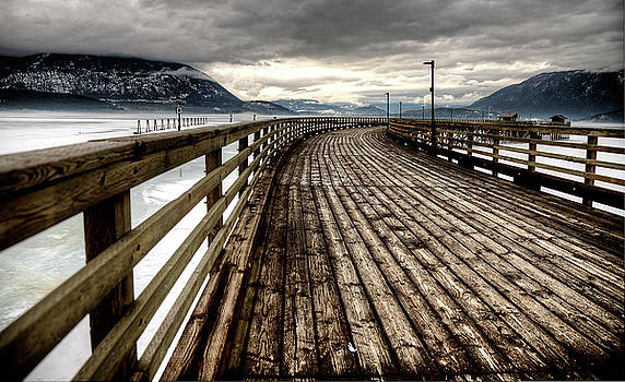 Salmon Arm British Columbia by Mark Duffy