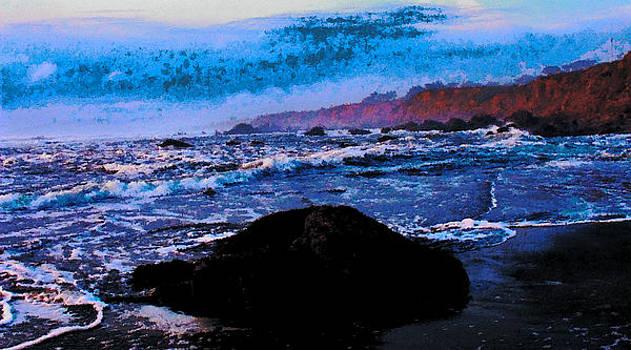 Salmon Creek Seascape by Kathleen Storey