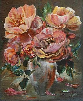 Salmon Rose by Ryn Shell