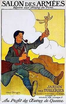 Salon des Armees, exhibition poster, 1916 by Vintage Printery