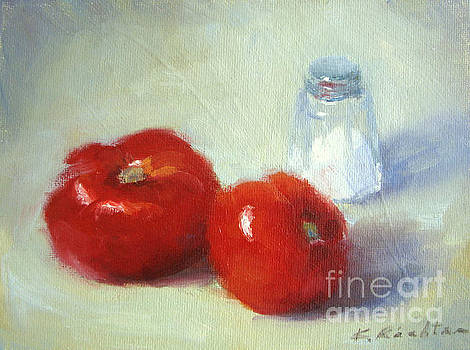Salt and Tomatoes by Keiko Richter