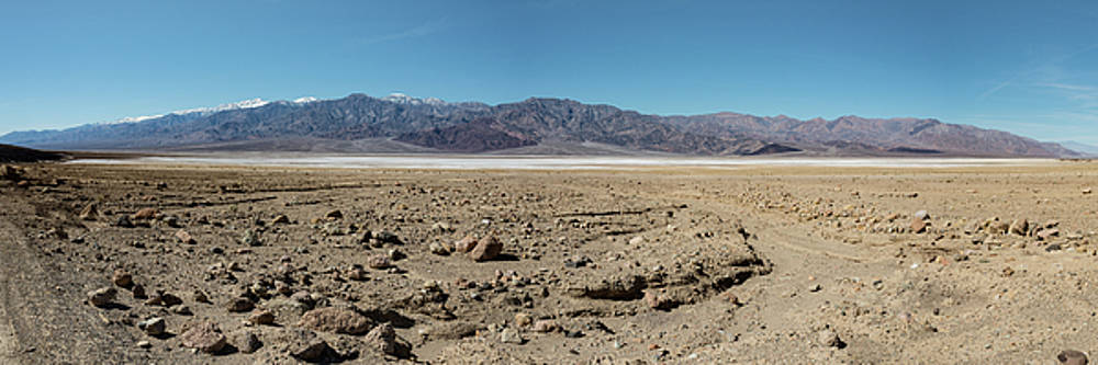 Michael Bessler - Salt Flats and Panamint Mtns