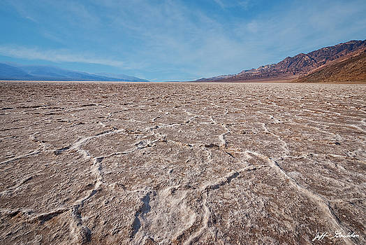 Salt Flats at Badwater Basin by Jeff Goulden