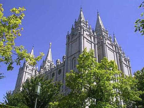 Salt Lake Temple by Misty Alger