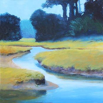Salt Marsh Brook by Sheila Psaledas