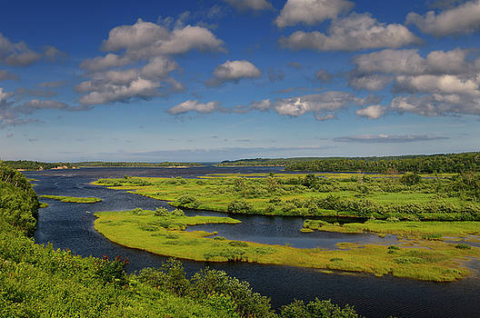 Reimar Gaertner - Salt marsh on North Aspy River at North Harbour Asby Bay Cape Br
