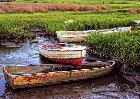 Salt Marsh by Richard Goldman