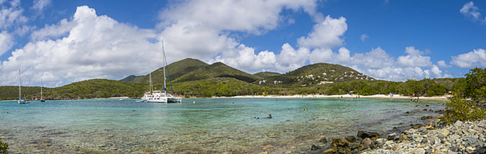 Salt Pond Bay Panoramic by Adam Romanowicz