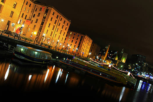 Salthouse Dock Reflection by David Chennell