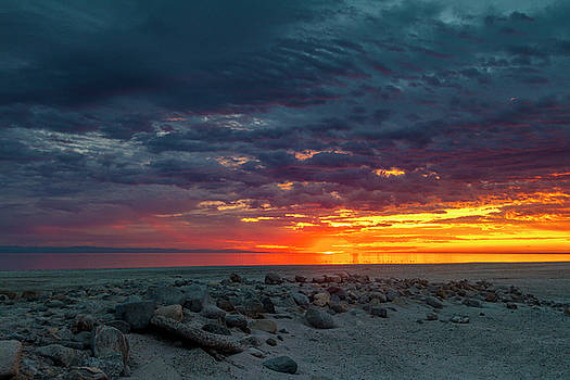 Guy Shultz - Salton Sea Sunrise