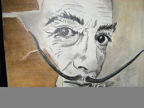 Salvador Dali by Maria  Da Assuncao Lima