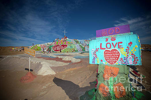 Salvation Mountain 1 by Daniel Knighton