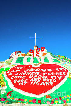 Julian Starks - Salvation Mountain Mosaic #2