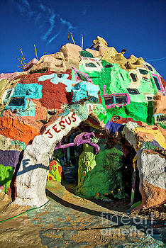 Julian Starks - Salvation Mountain Mosaic #4