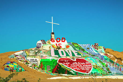 Julian Starks - Salvation Mountain Mosaic #6