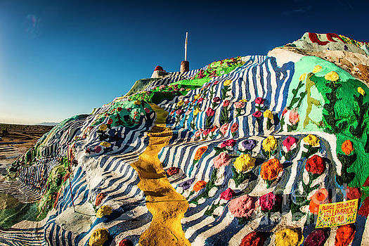 Julian Starks - Salvation Mountain Mosaic hill #1