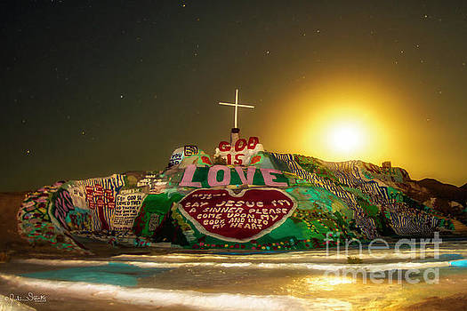 Julian Starks - Salvation Mountain Sunset