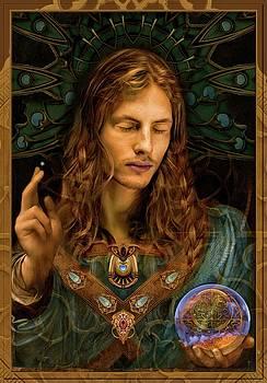 Salvator Mundi  by Daniel Arrhakis by Daniel Arrhakis