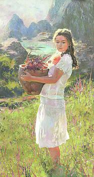 Salvia by Denis Chernov