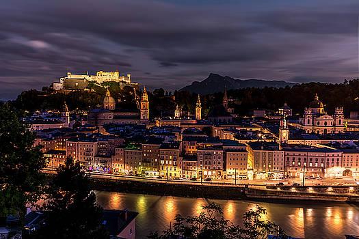 Salzburg Austria by David Morefield