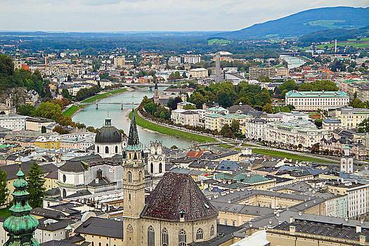 Robert Meyers-Lussier - Salzburg from Hohensalzburg Castle