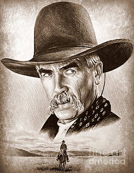 Sam Elliot The Lone Rider by Andrew Read