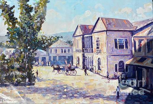 Sam Sharpe Square by Jeffrey Samuels