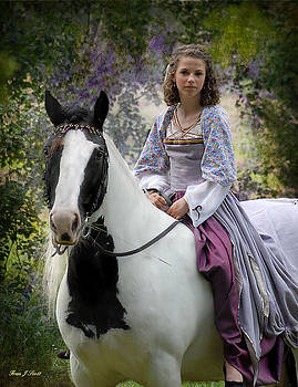 Samantha and The Gypsy Mare by Fran J Scott